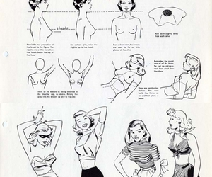breasts, drawing, and comic image