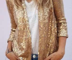 boho, fashion, and golden image