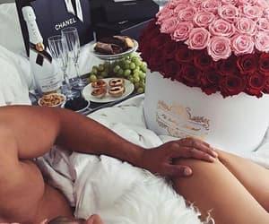 amor, chanel, and rosas image