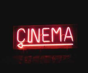 cinema, light, and red image