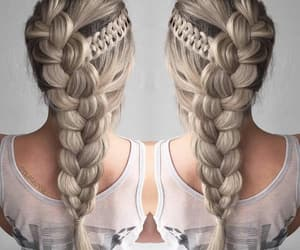 hair, hairstyles, and fashion image
