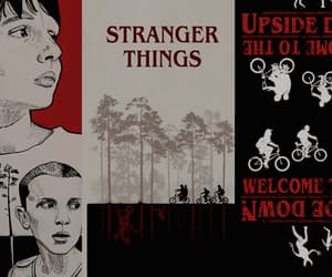 header, red, and stranger things image