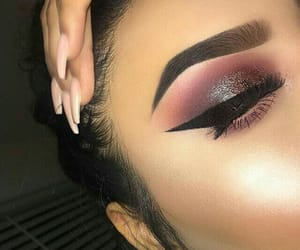 eyebrow, eyeliner, and eyeshadow image