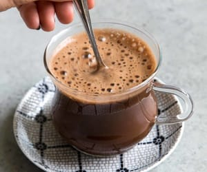 cacao, drink, and tea image
