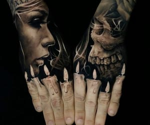 awesome, tattoo, and black&grey image