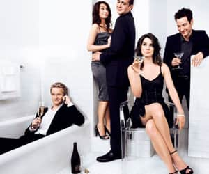 how i met your mother, himym, and barney image
