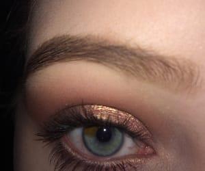 eyebrow, eyeshadow, and makeup image