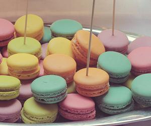 macarons, food, and beauty image