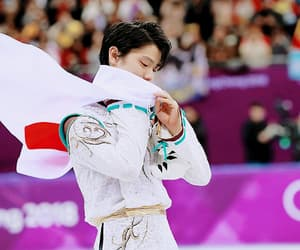 figure skating, olympics, and yuzuru hanyu image