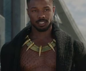 black panther and movie image
