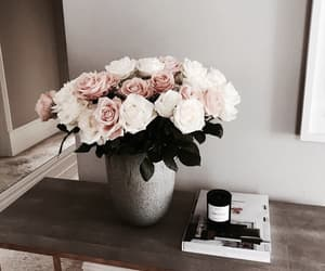 flowers, home, and fashion image