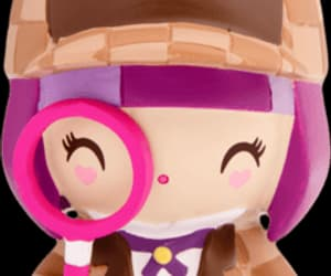 beige, detective, and purple image