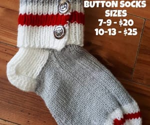knitted, sell, and socks image