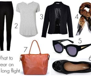 outfits, travel, and travel outfits image