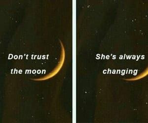 alternative, Lyrics, and moon image