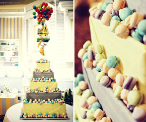 cake, up, and wedding image