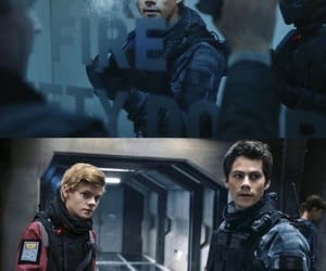 newt, thomas, and dylan o'brien image