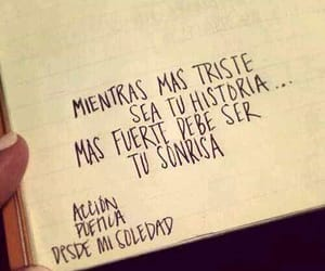 smile, frases, and accion poetica image