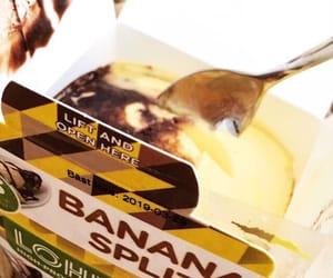 banana, chocolate, and delicious image