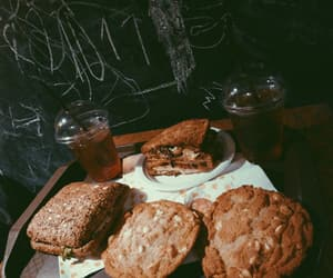 bread, drinks, and restaurant image