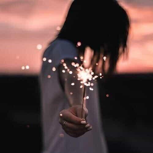 light, tumblr, and sparkler image
