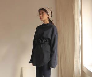 fashion, girl, and kfashion image