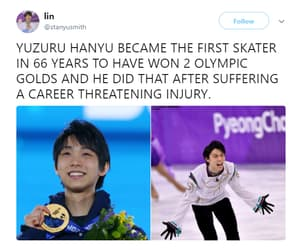 figure skating, yuzuru hanyu, and yuzuru image