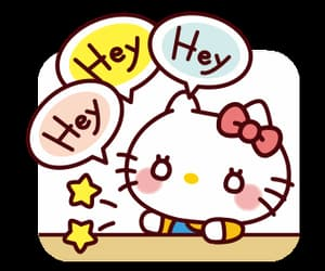 gif, cute, and hello kitty image