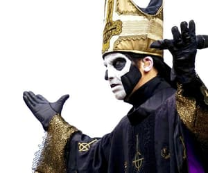 band, ghost, and gold image