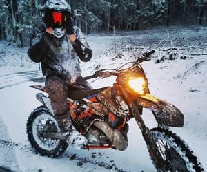 motocross, snow, and grenzgaenger image