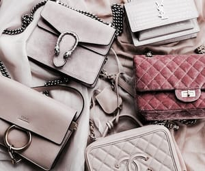 bags, fashion, and chanel image