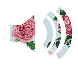 music, flowers, and gif image