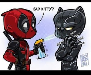 deadpool and black panther image