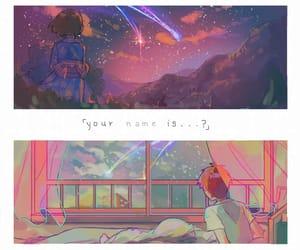 your name, kimi no na wa, and anime image