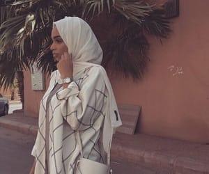 Blanc, girl, and hijab image