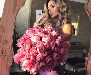 chic, flowers, and girl image