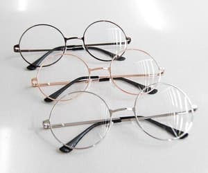 glasses, tumblr, and accessories image