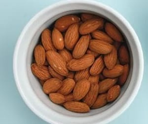 almonds, fitness, and nuts image