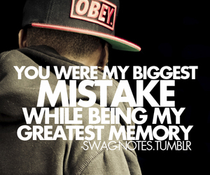 memories, mistake, and quote image