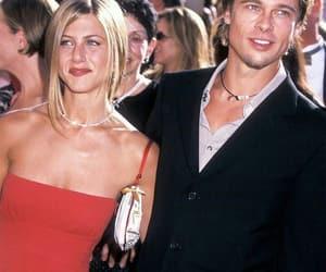 brad pitt, celebrities, and couple image