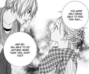 black&white, strobe edge, and manga image
