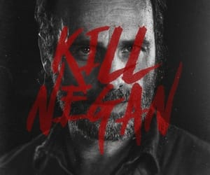 black and white, series, and the walking dead image