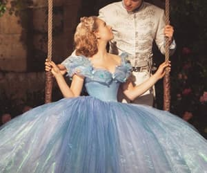 cinderella, couple, and hug image