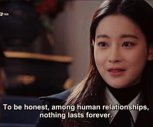 Korean Drama, life, and quotes image