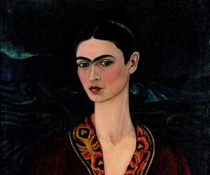 frida kahlo, art, and painting image