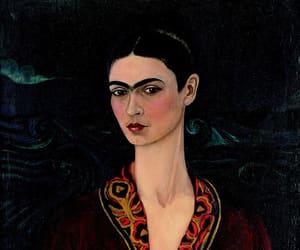 frida kahlo, art, and painting image