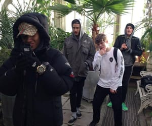 boy, yung lean, and pale image