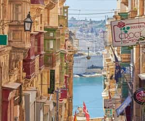 city, malta, and photography image