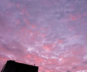 blue, cloud, and pink sky image