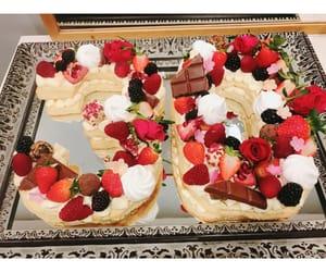 birthday, cake, and desserts image